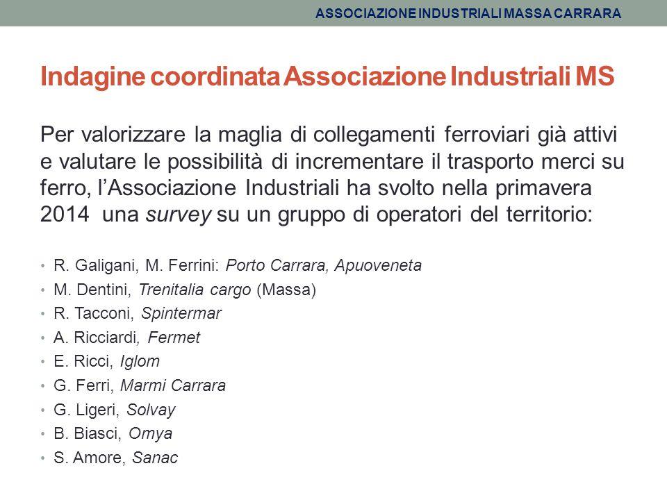 Indagine coordinata Associazione Industriali MS