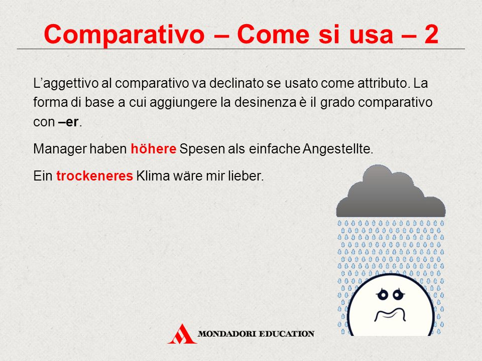 Comparativo – Come si usa – 2