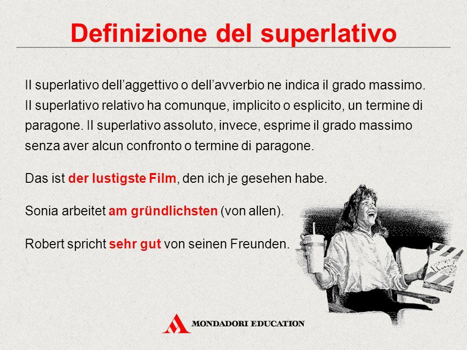 Definizione del superlativo