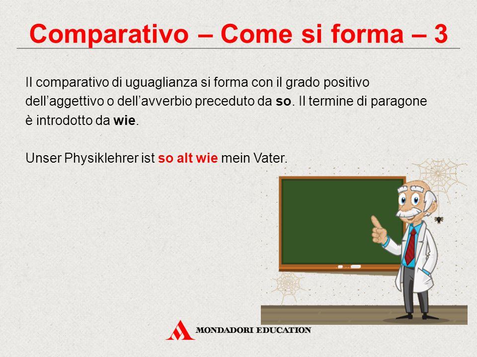 Comparativo – Come si forma – 3