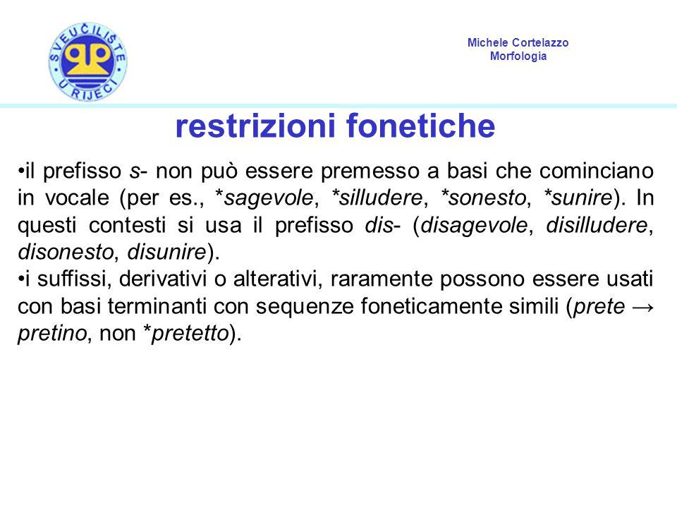 restrizioni fonetiche