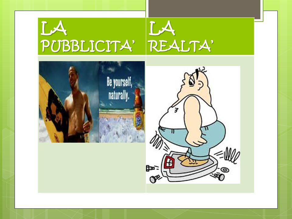 LA PUBBLICITA' REALTA'