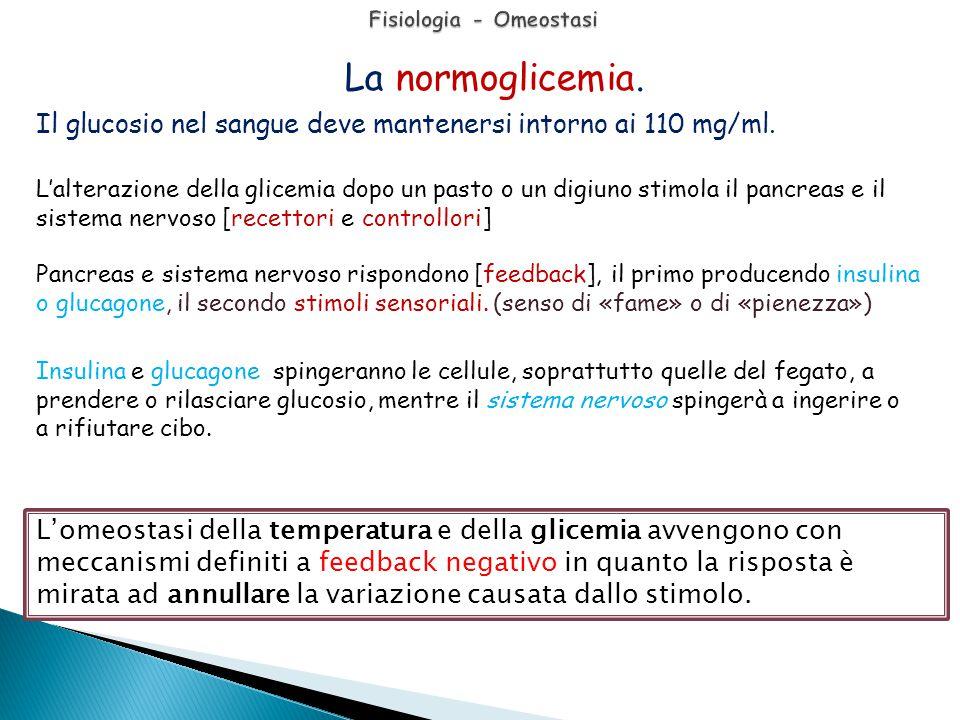 Fisiologia - Omeostasi