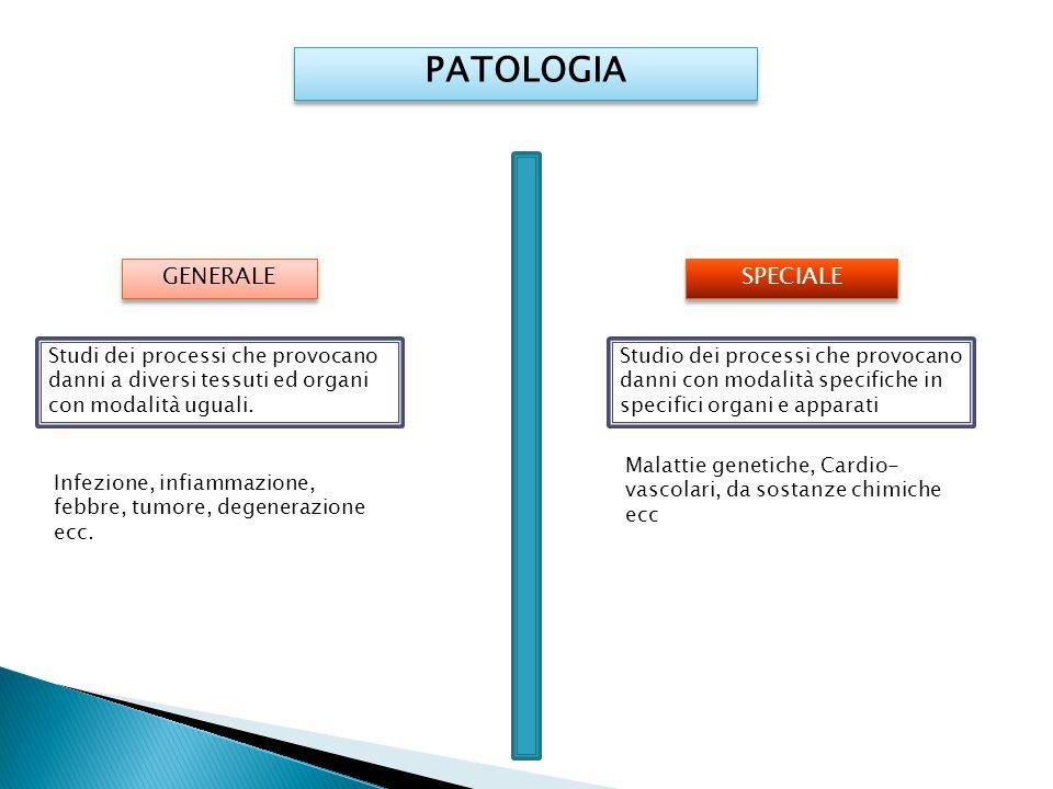 PATOLOGIA GENERALE SPECIALE