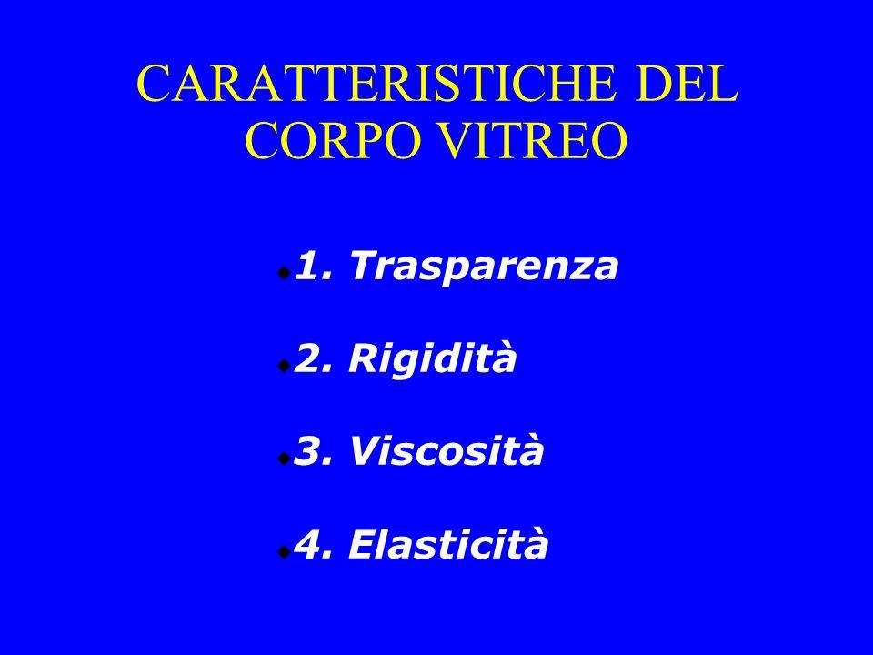 CARATTERISTICHE DEL CORPO VITREO