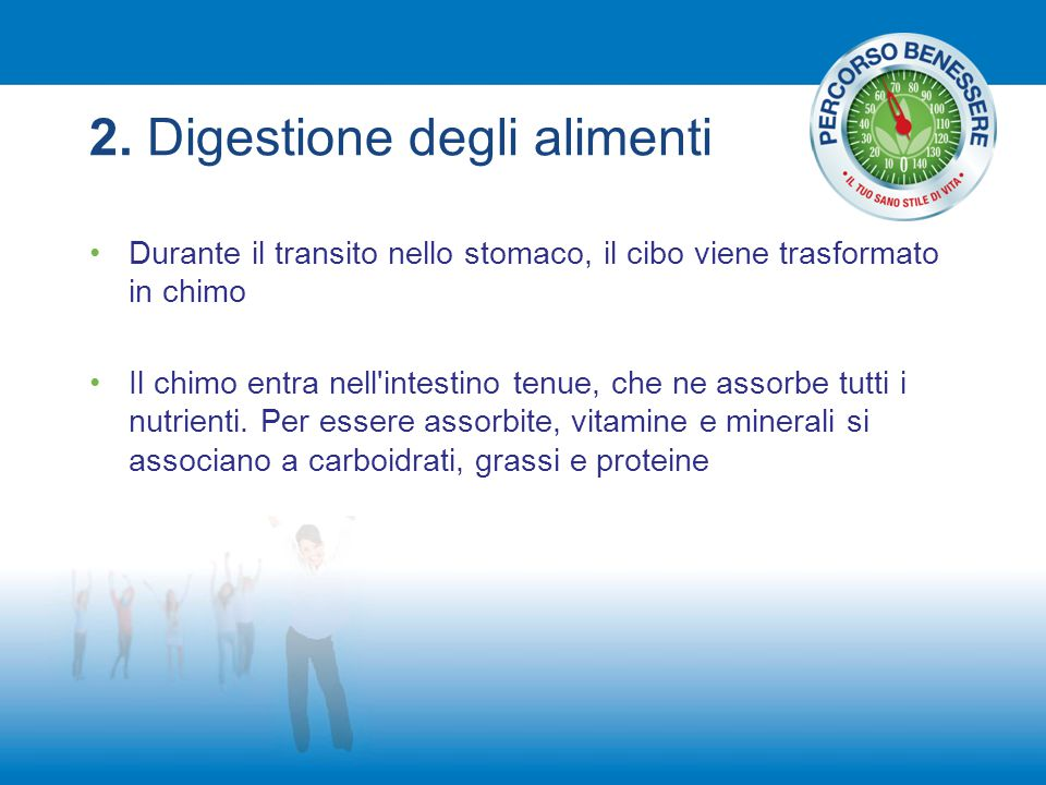 2. Digestione degli alimenti