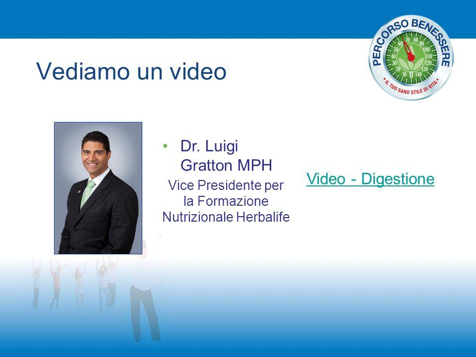 Vice Presidente per la Formazione Nutrizionale Herbalife