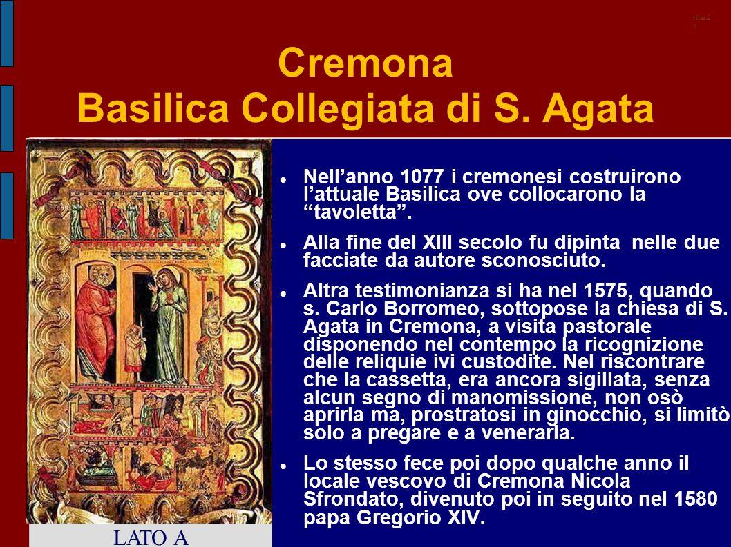 Cremona Basilica Collegiata di S. Agata