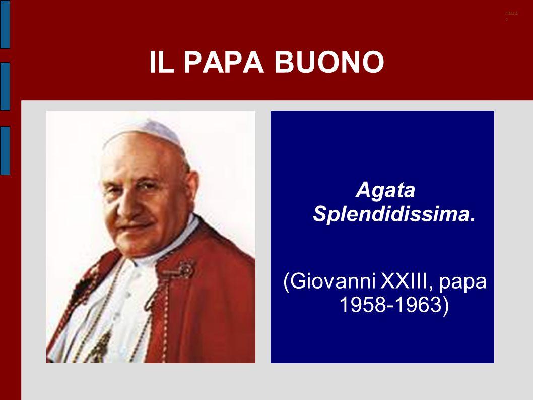 (Giovanni XXIII, papa 1958-1963)