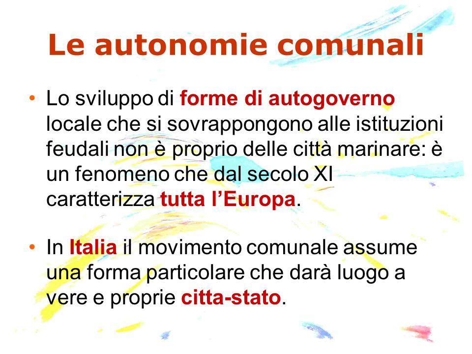 Le autonomie comunali
