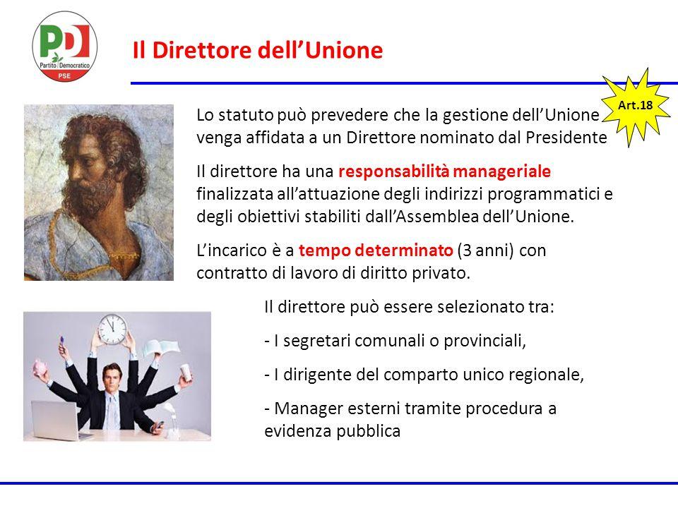 Il Direttore dell'Unione