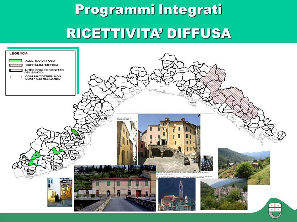 Programmi Integrati RICETTIVITA' DIFFUSA