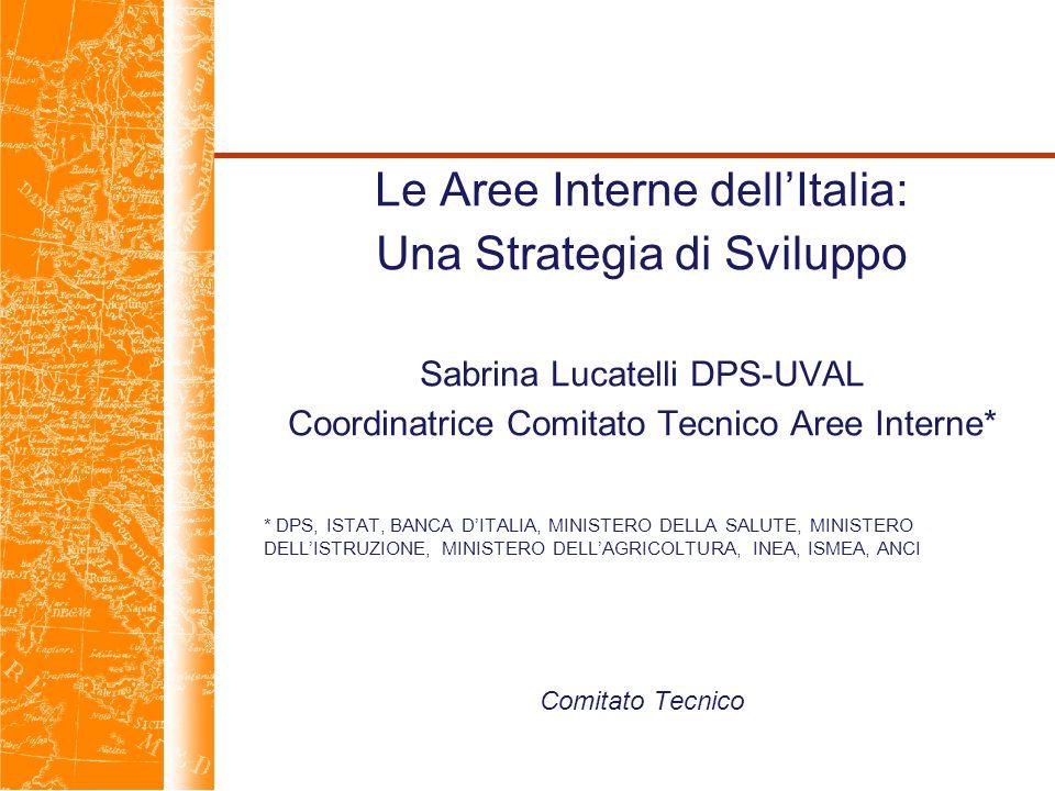 Le Aree Interne dell'Italia: Una Strategia di Sviluppo