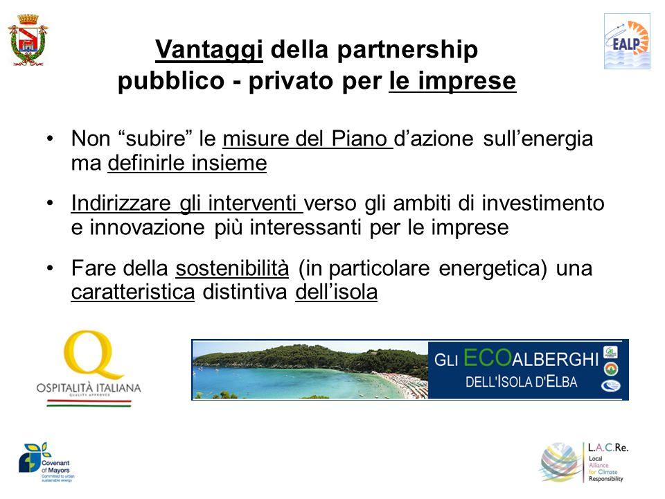 Vantaggi della partnership pubblico - privato per le imprese