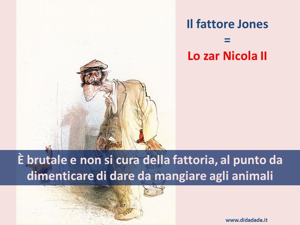 Il fattore Jones = Lo zar Nicola II