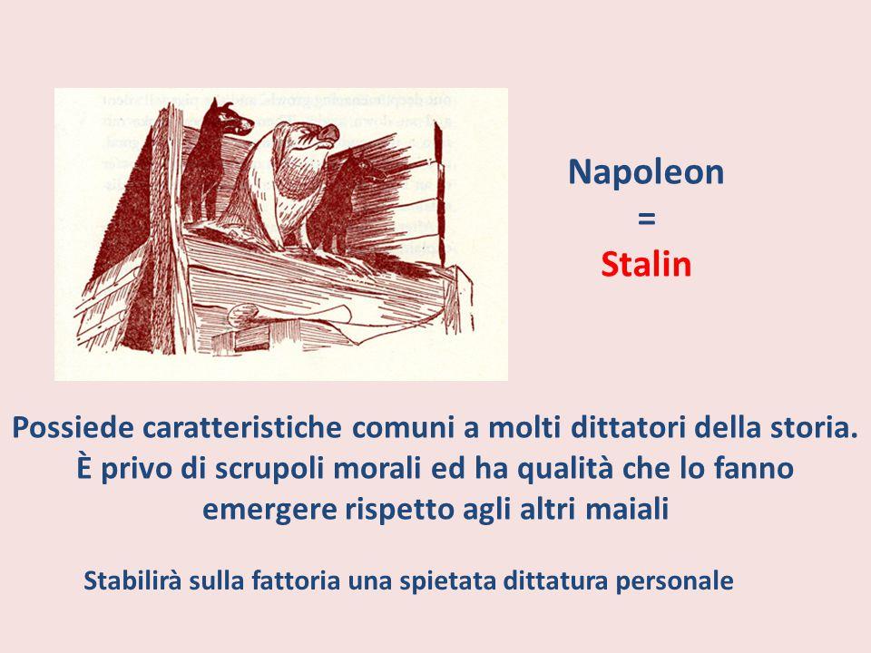 Napoleon = Stalin.