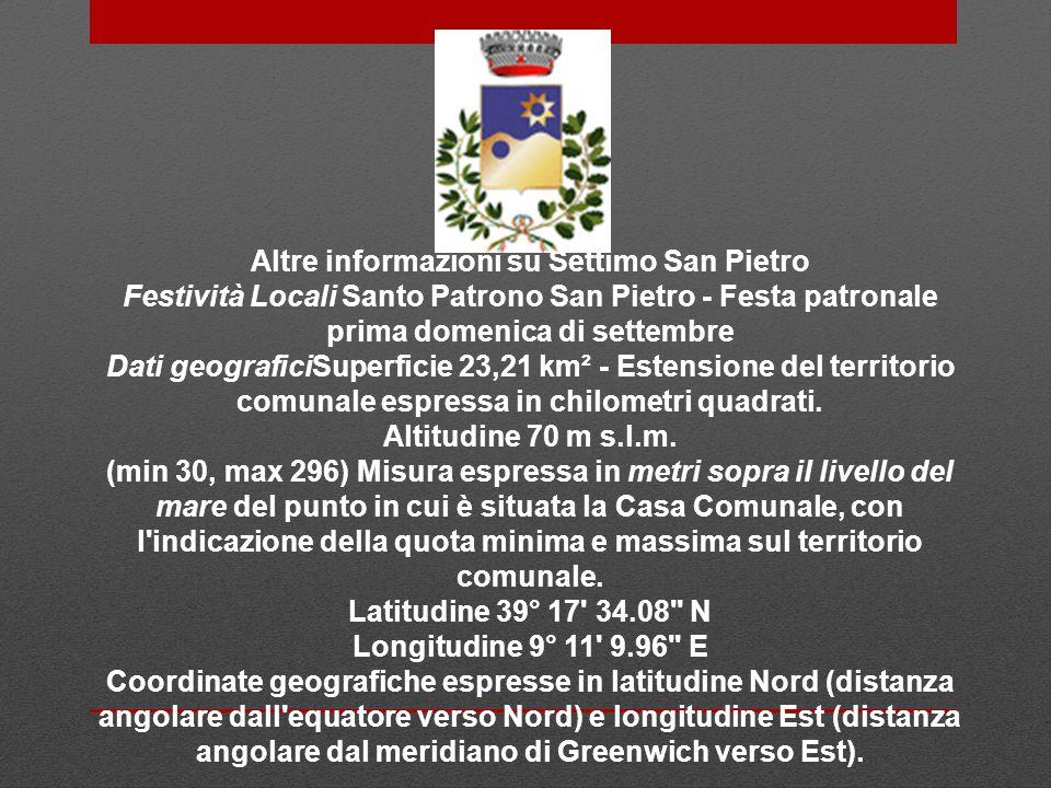 Altre informazioni su Settimo San Pietro