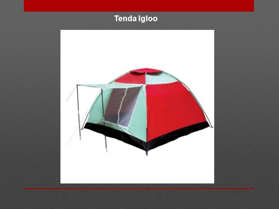 Tenda Igloo