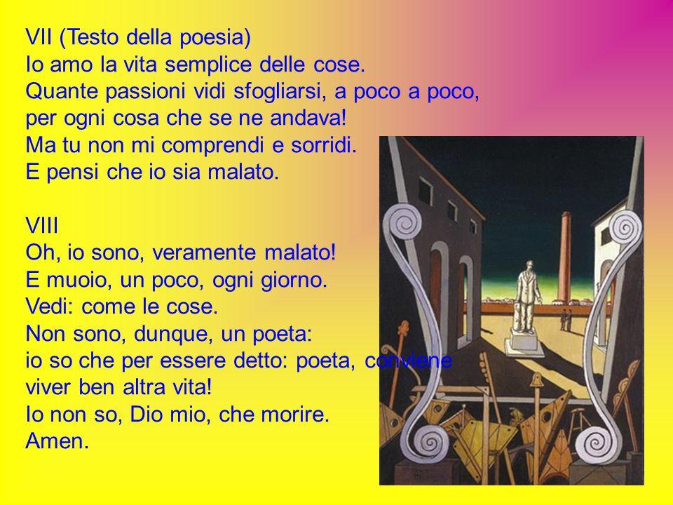 VII (Testo della poesia)