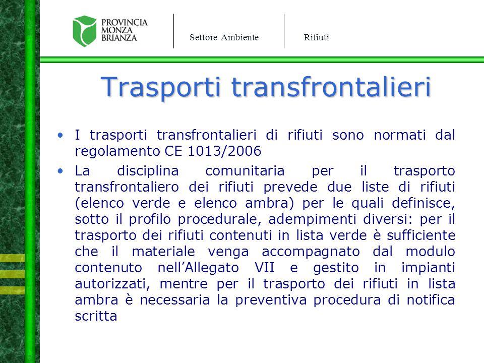 Trasporti transfrontalieri