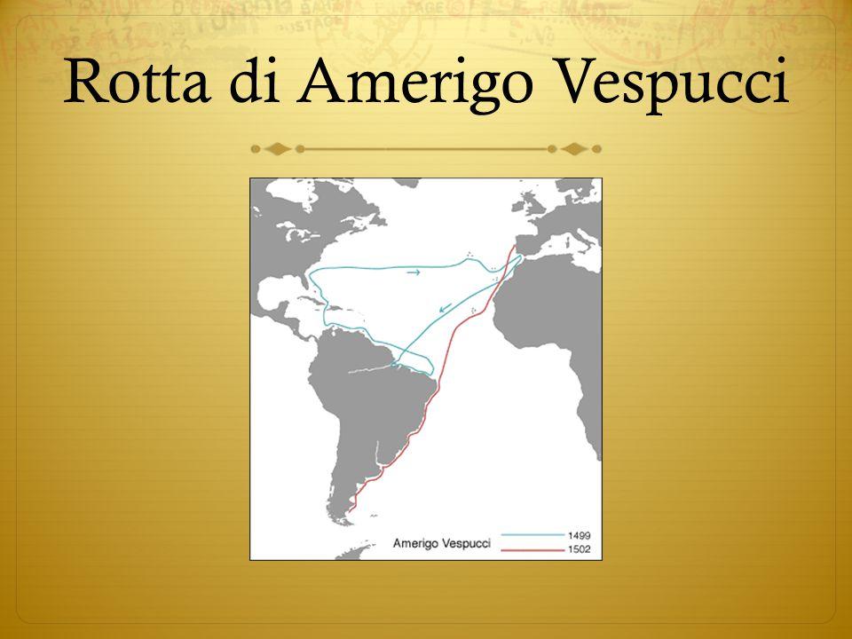 Rotta di Amerigo Vespucci
