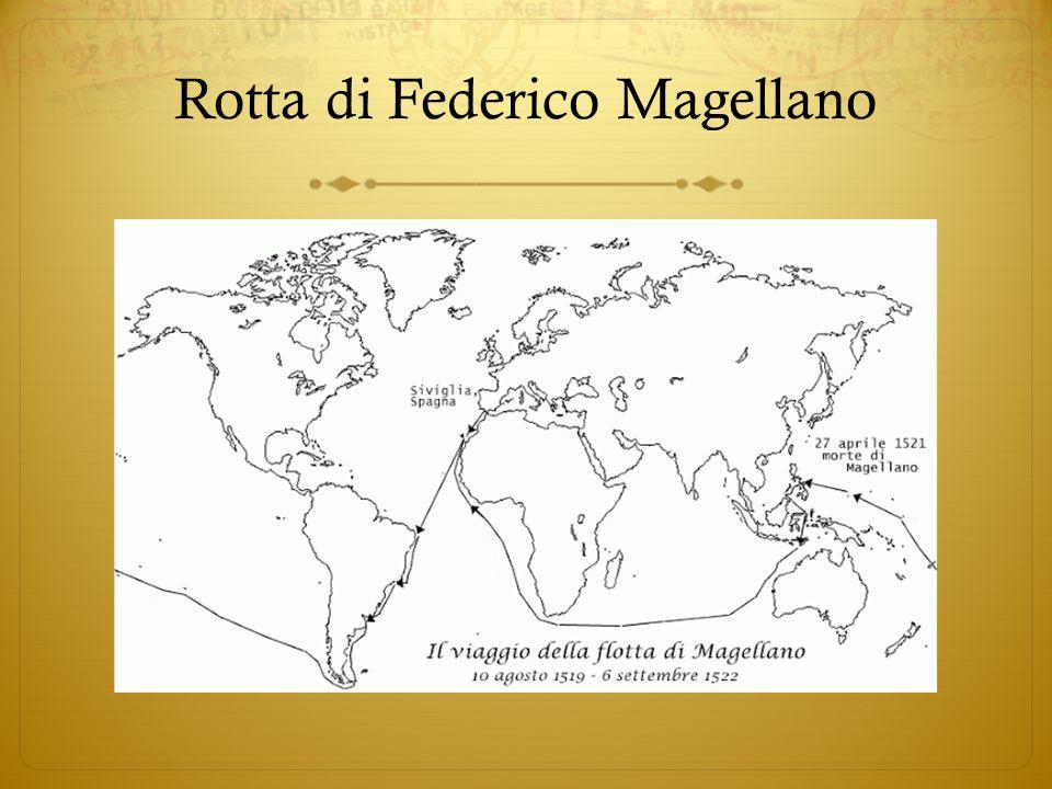 Rotta di Federico Magellano