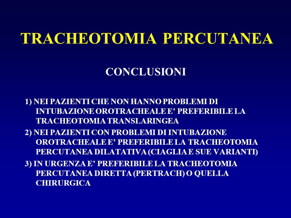 TRACHEOTOMIA PERCUTANEA
