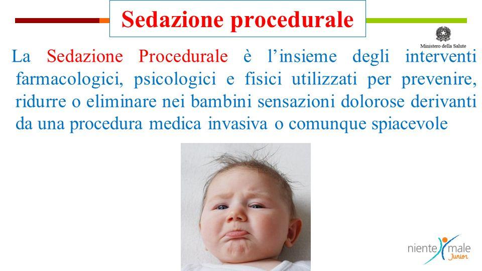 Sedazione procedurale