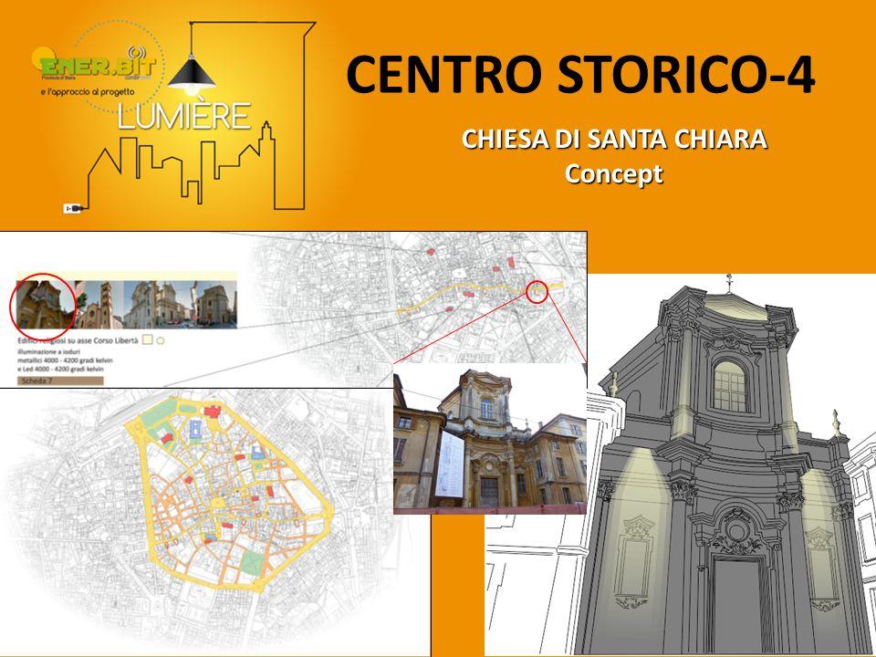CENTRO STORICO-4 CHIESA DI SANTA CHIARA Concept