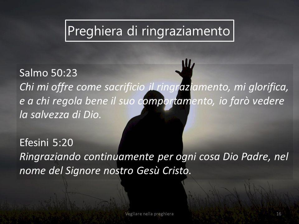 Vegliare nella preghiera