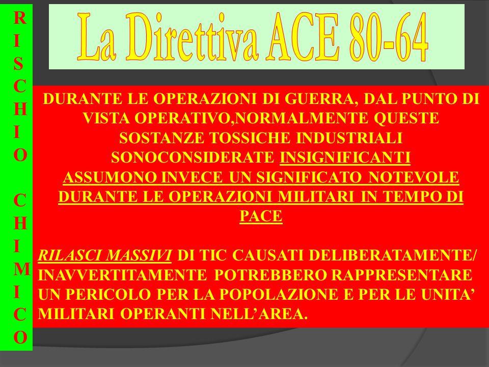 La Direttiva ACE 80-64 R I S C H O M