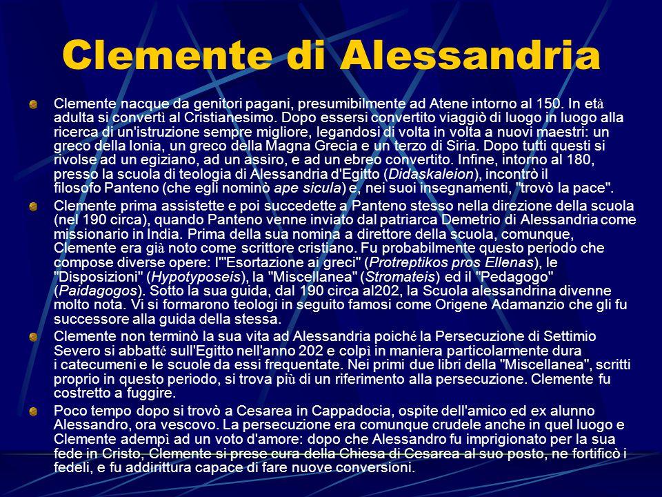 Clemente di Alessandria