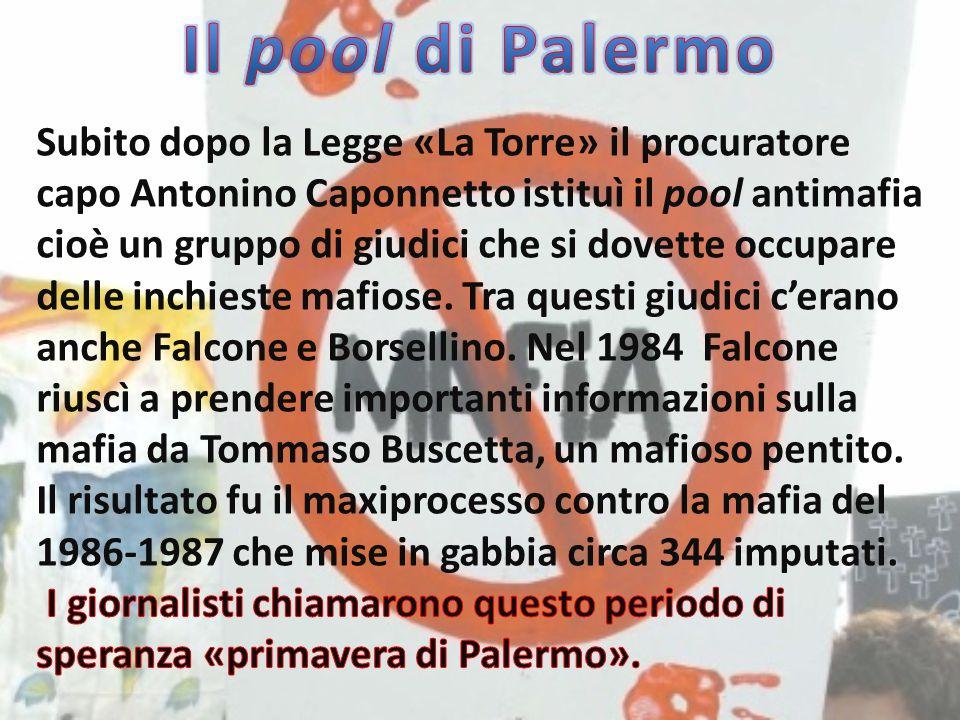 Il pool di Palermo