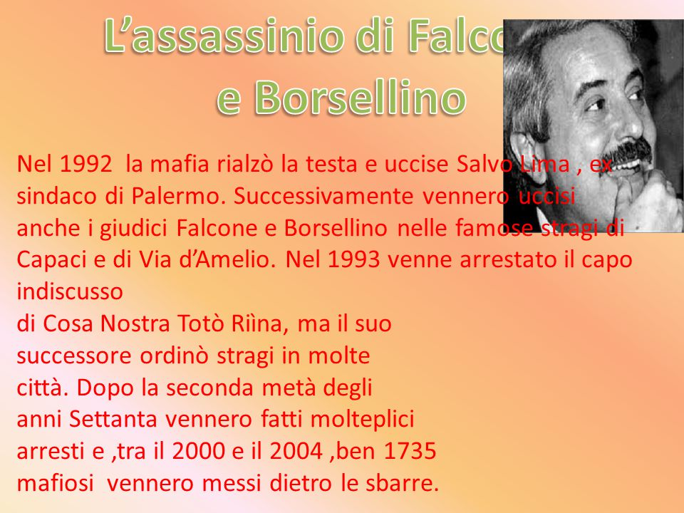 L'assassinio di Falcone