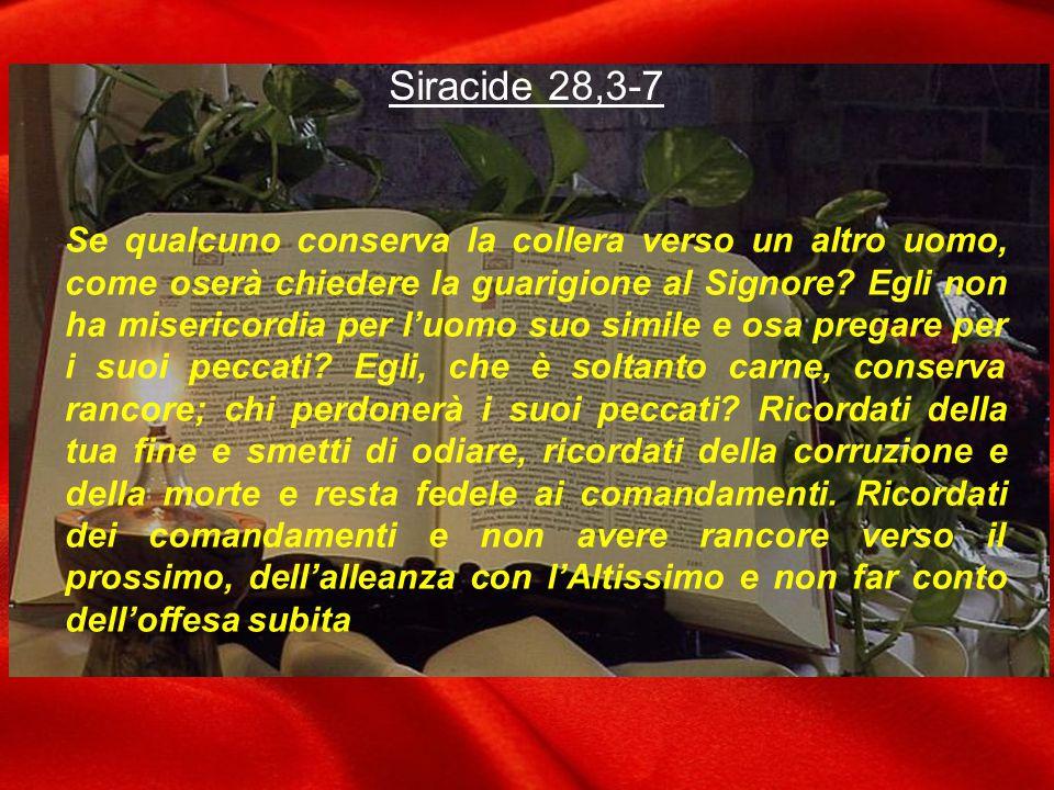 Siracide 28,3-7