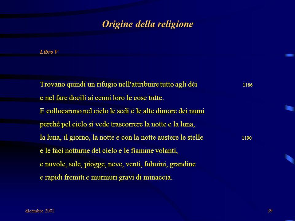 Origine della religione