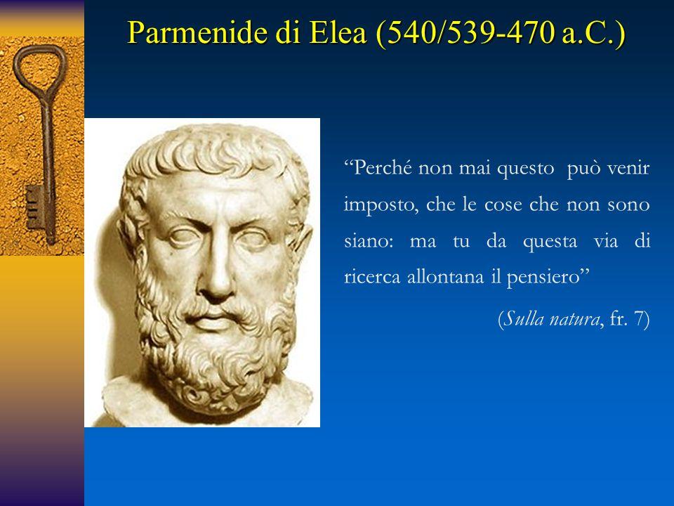 Parmenide di Elea (540/539-470 a.C.)