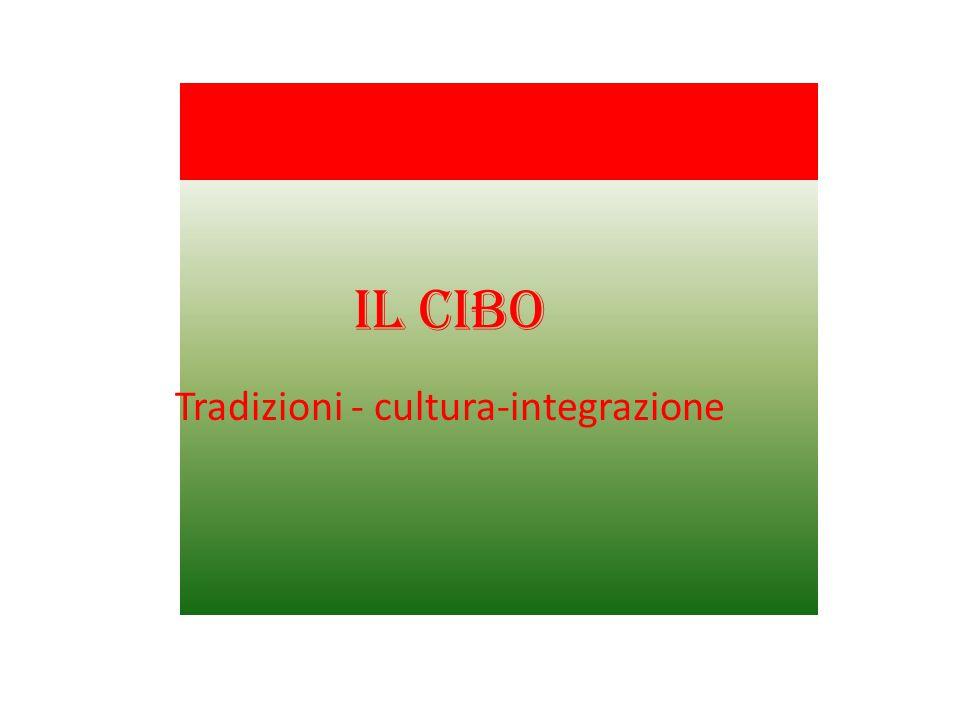 Tradizioni - cultura-integrazione