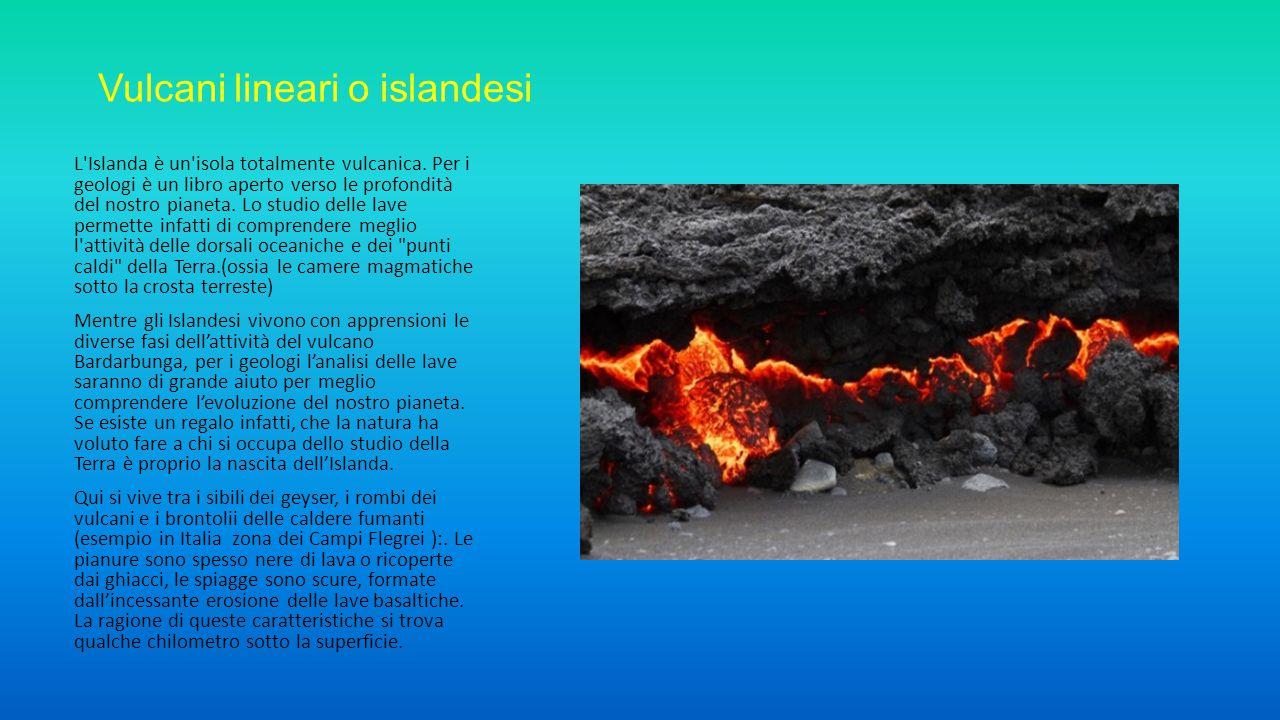 Vulcani lineari o islandesi