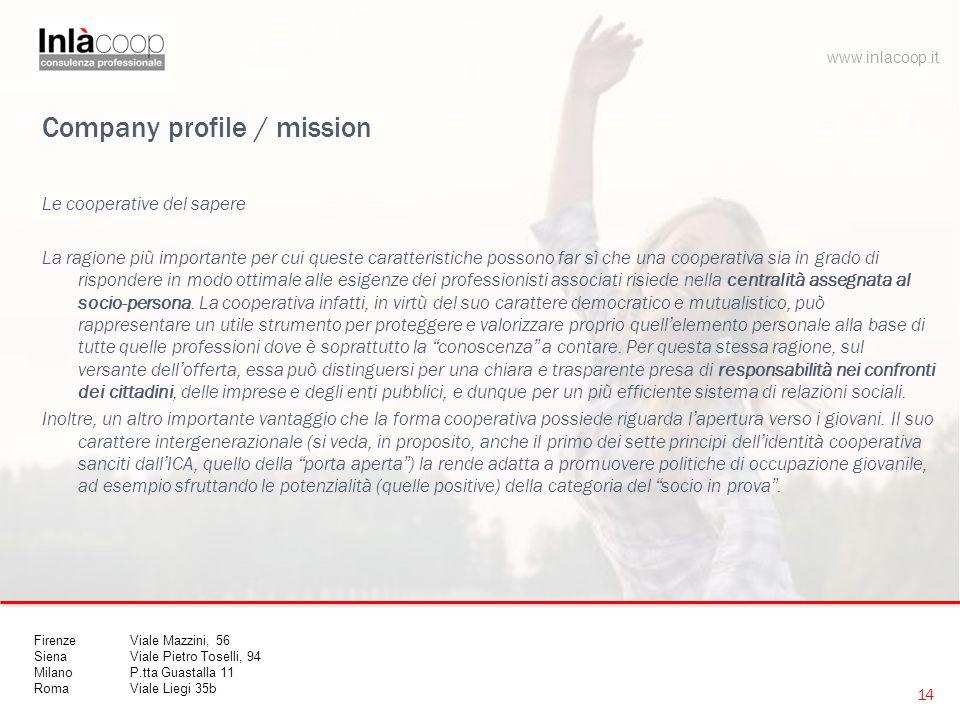 Company profile / mission