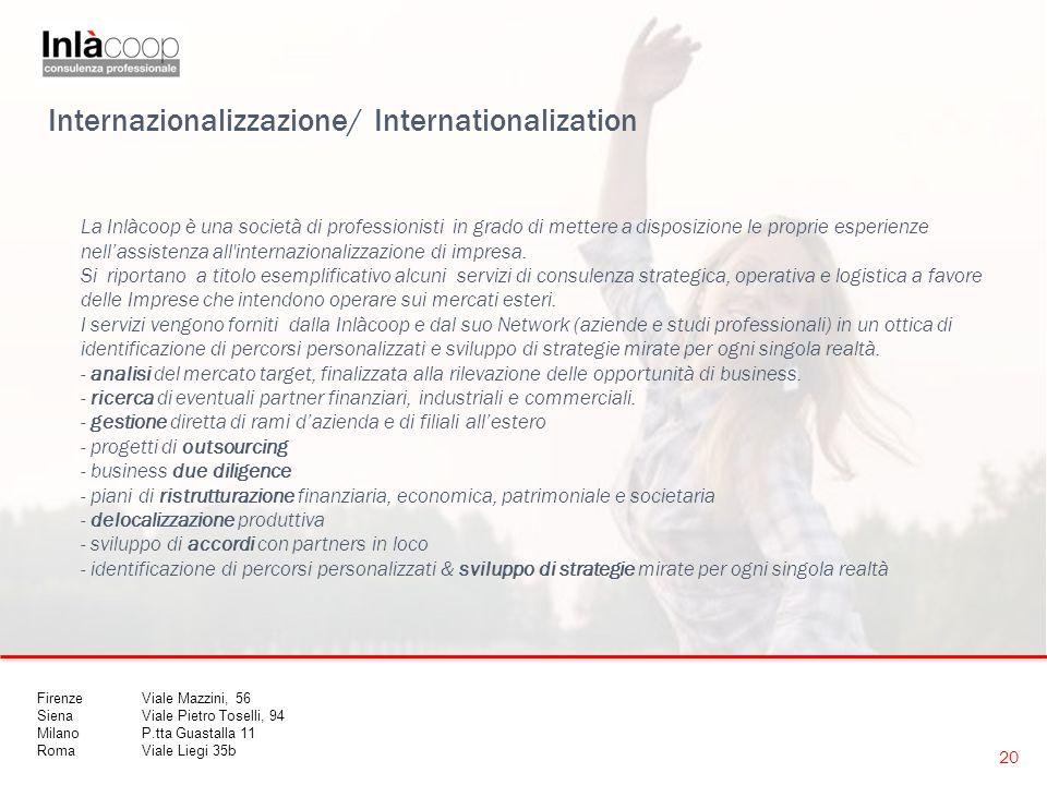 Internazionalizzazione/ Internationalization