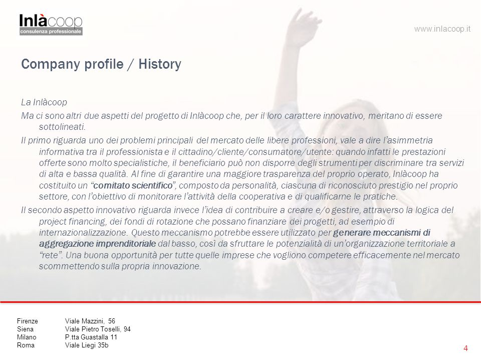 Company profile / History