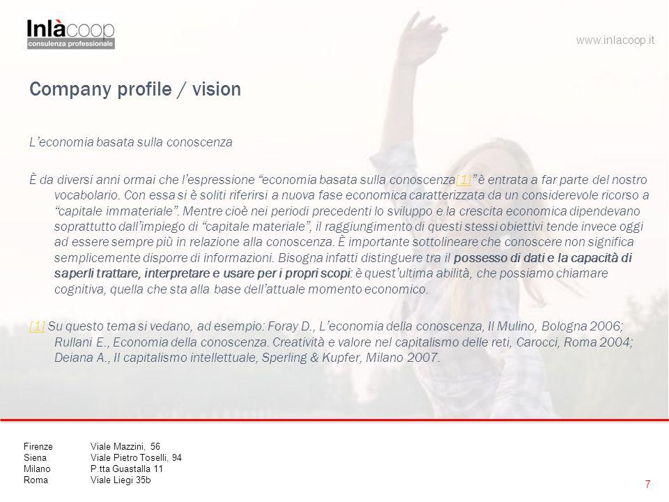 Company profile / vision