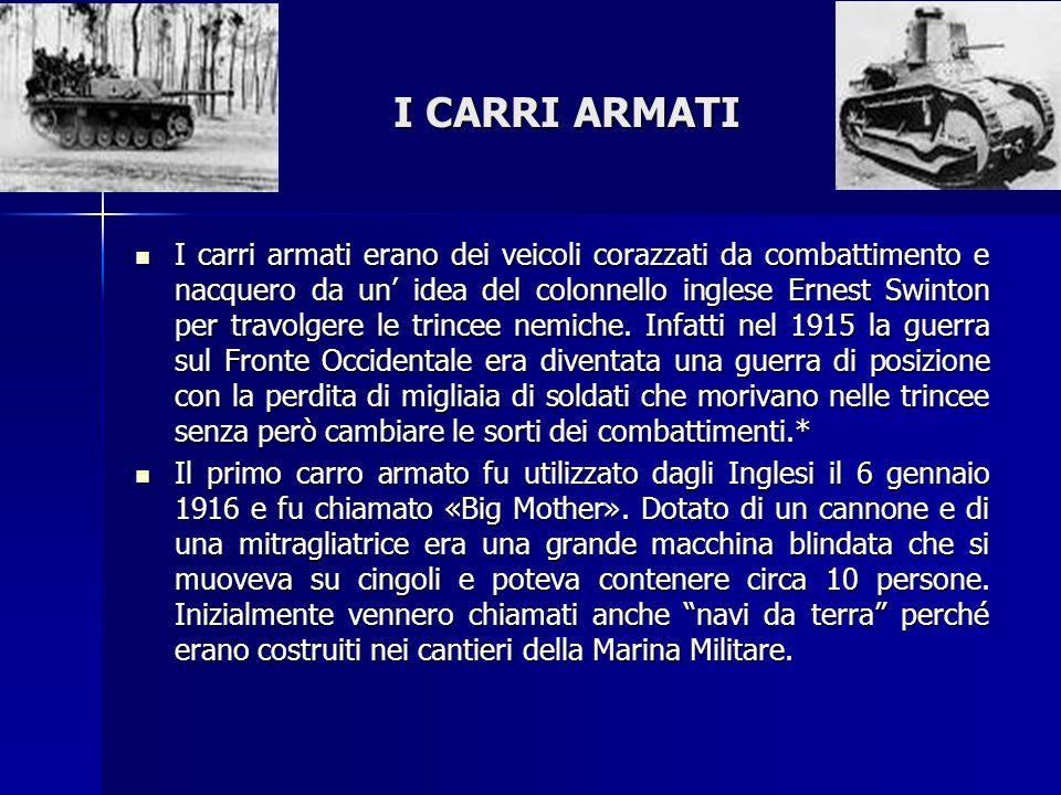 I CARRI ARMATI