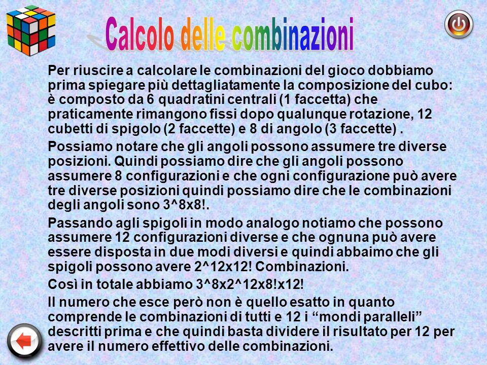 Calcolo delle combinazioni