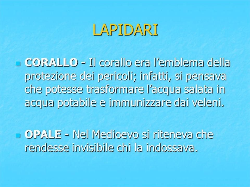 LAPIDARI