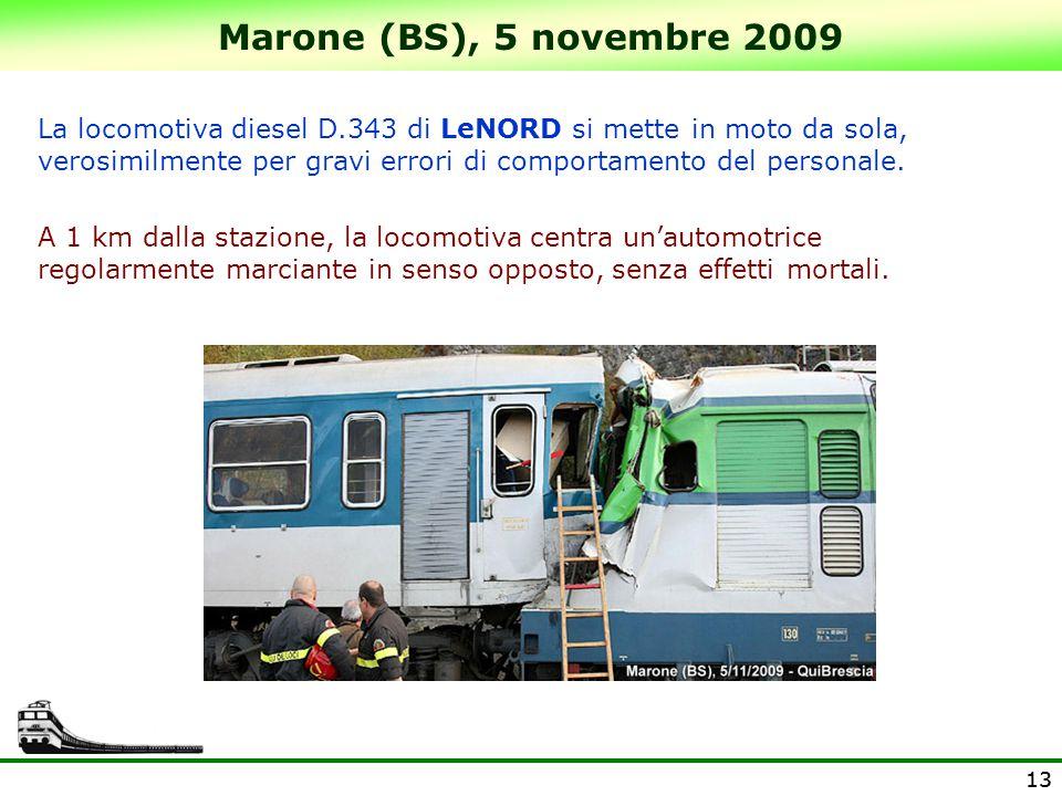 Marone (BS), 5 novembre 2009