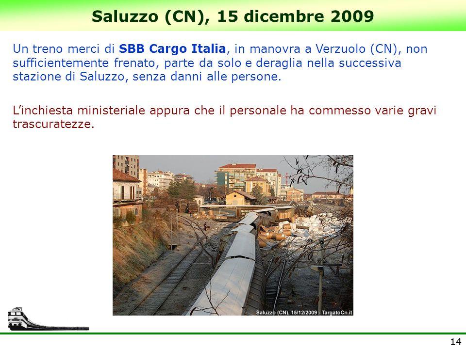 Saluzzo (CN), 15 dicembre 2009