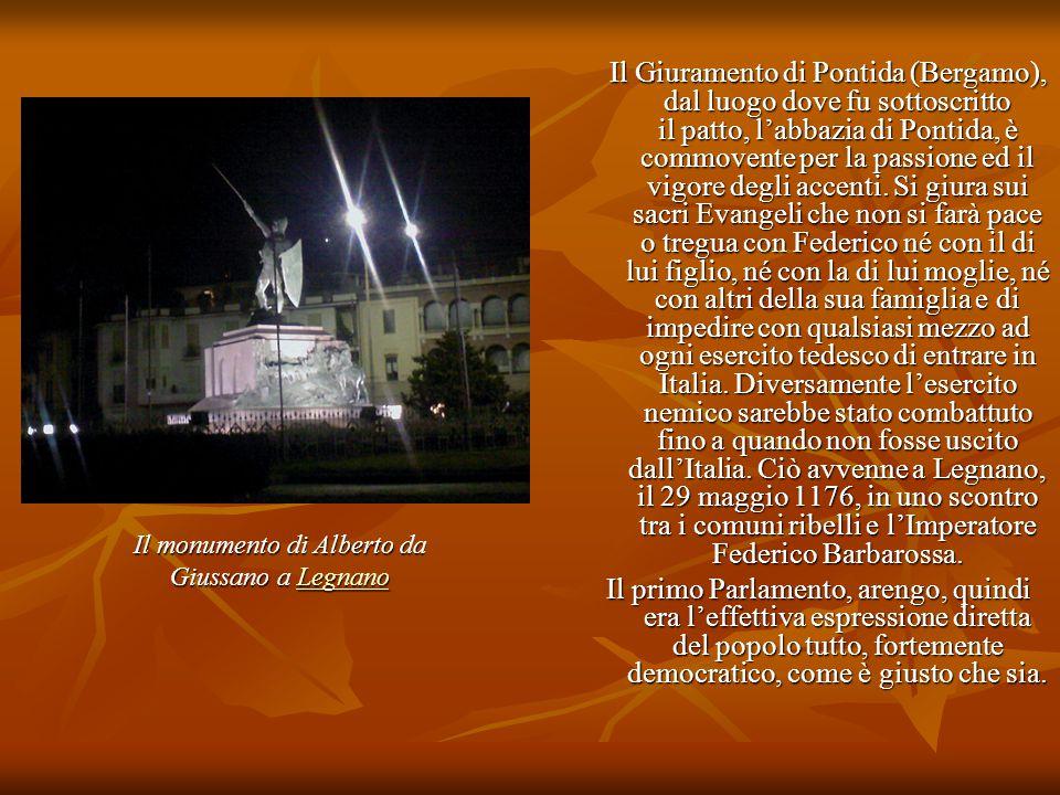 Il monumento di Alberto da Giussano a Legnano