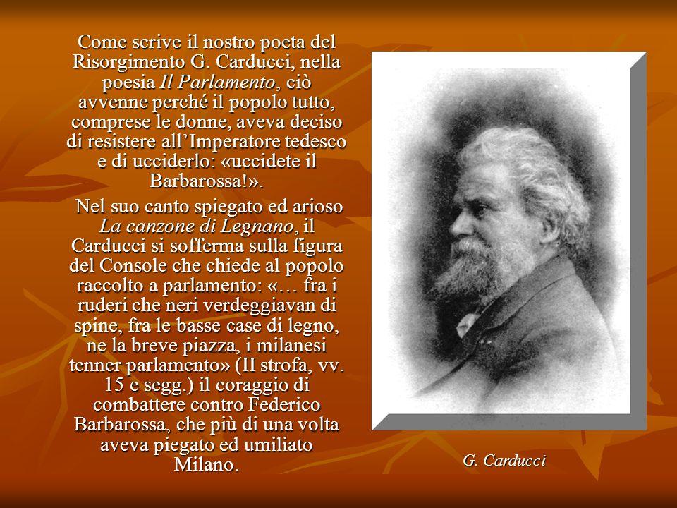 Come scrive il nostro poeta del Risorgimento G